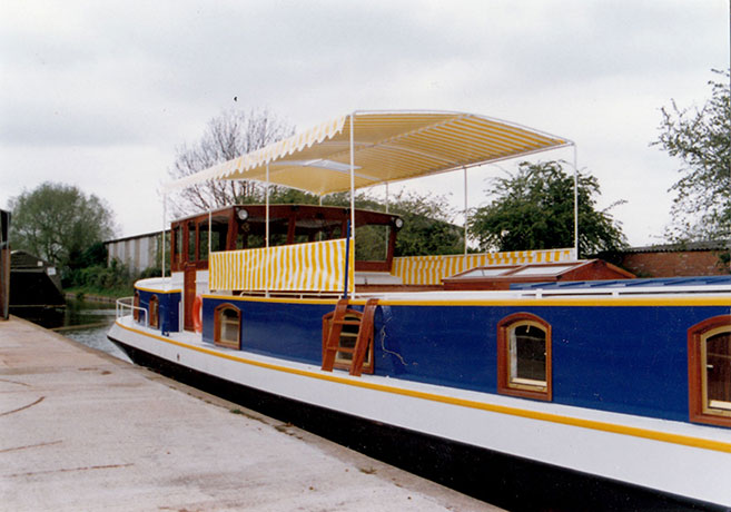 A Dutch Barge built by Delta Marine Services
